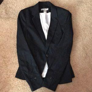 Navy blue work blazer
